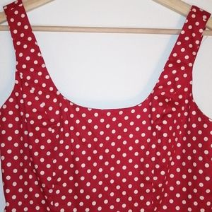 NWOT Twik  polka dot summer dress size medium
